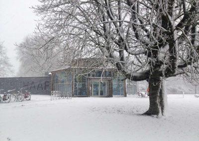 T-Huis Presikhaaf Arnhem een plaatje in de winter